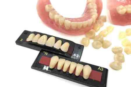 入れ歯の「歯」の素材とは?